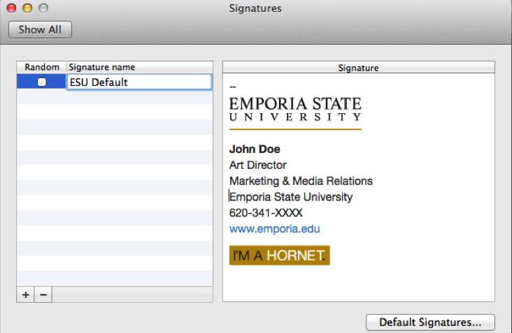 Grad Student Email Signature Email Signature Generator Marketing & Media Relations