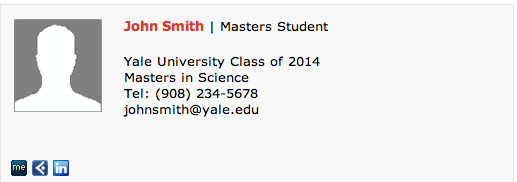 Grad Student Email Signature Masters Student