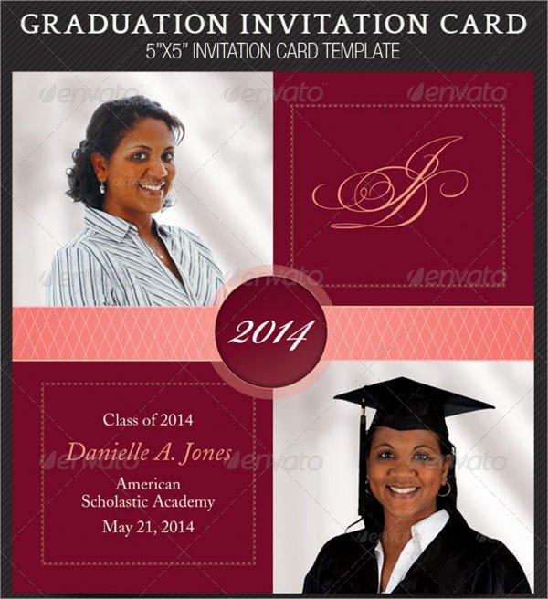 Graduation Invitation Templates Microsoft Word 11 Beautiful Graduation Invitation Templates Psd Word Ai