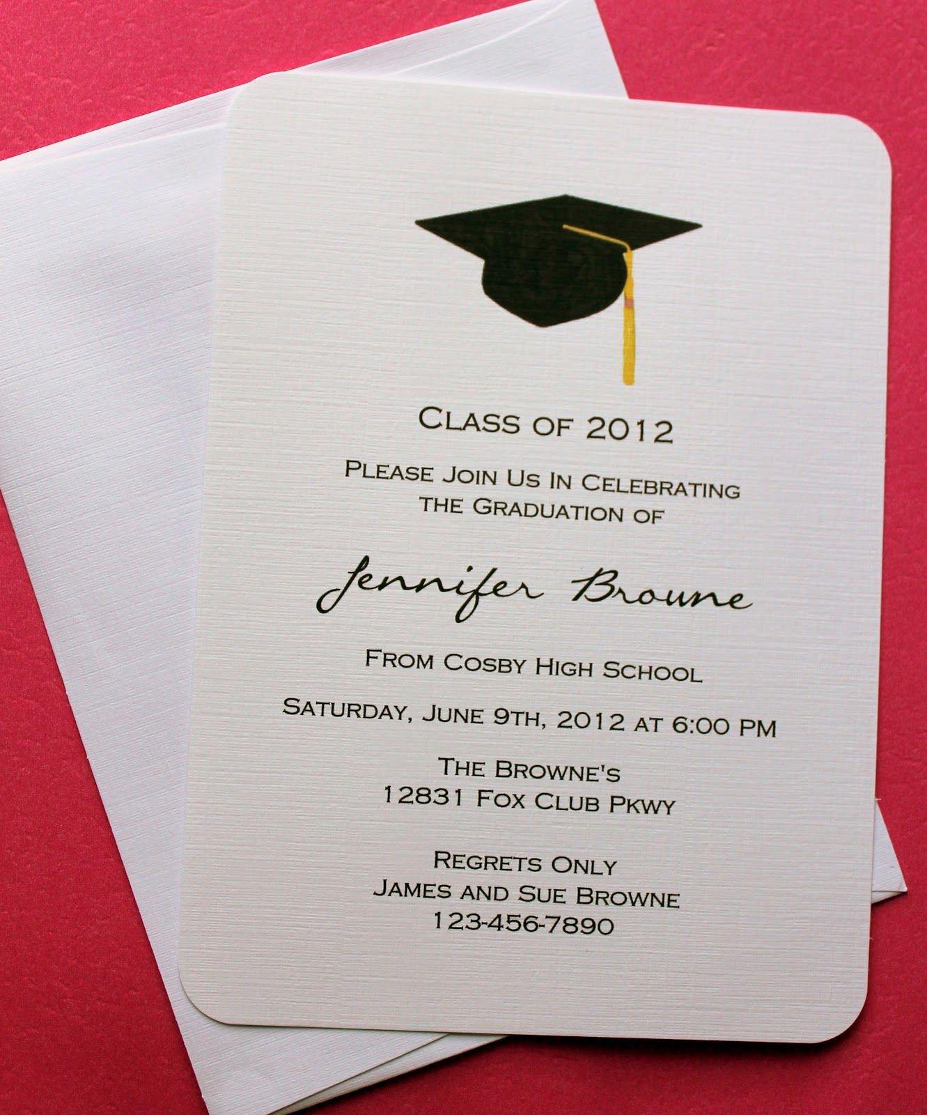 Graduation Invitation Templates Microsoft Word Graduation Invitation Template Graduation Invitation