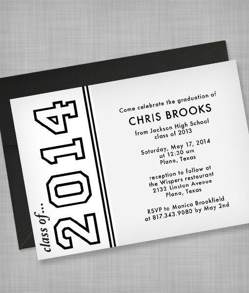 Graduation Invitation Templates Microsoft Word High School Graduation Invitation Template – Download & Print
