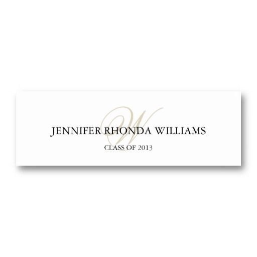 Graduation Name Card Template 1000 Images About Name Cards for Graduation Announcements