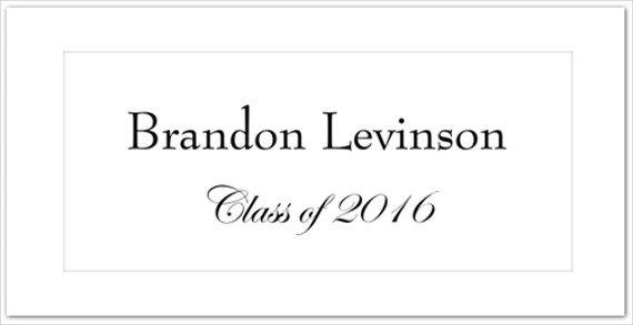 Graduation Name Card Template 8 Graduation Name Cards Psd Vector Eps Png