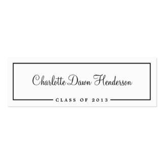 Graduation Name Card Template 900 Graduation Name Business Cards and Graduation Name