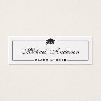 Graduation Name Card Template Graduation Name Card Business Cards & Templates