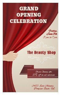Grand Opening Flyer Template Free Free Flyer Templates
