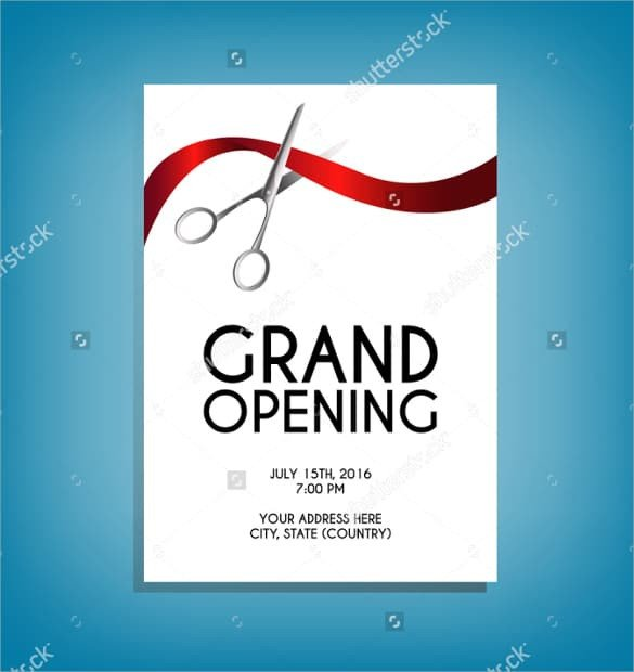 Grand Opening Flyer Template Free Grand Opening Flyer Templates Word Excel Samples