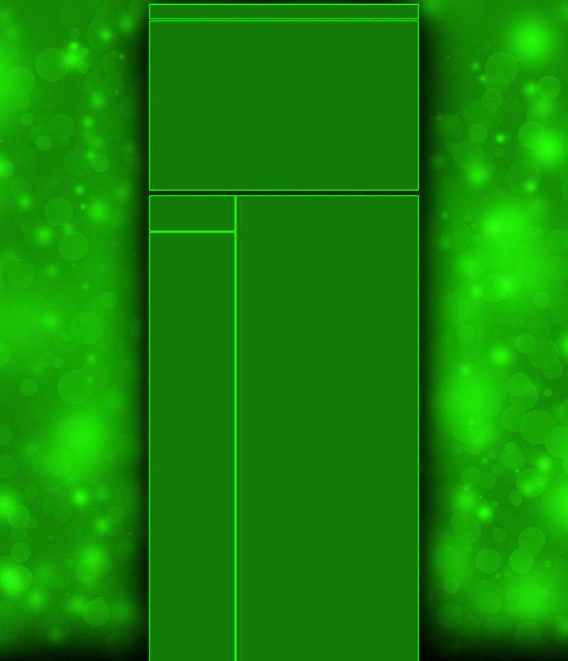 Green Channel Art Basic Green Bokeh Channel Background by