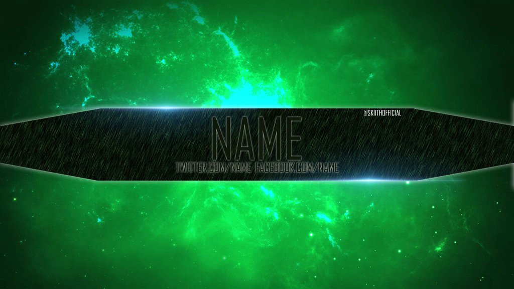 Green Channel Art Channel Art Template 2 Green Slime by Skiith Ficial On