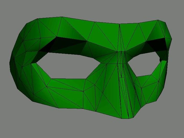 Green Lantern Mask Template Art World March 2011