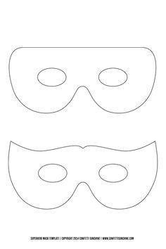 Green Lantern Mask Template Diy Captain America Shield Free Printable