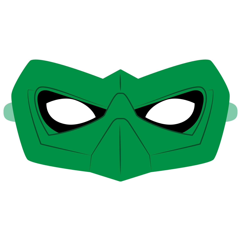 Green Lantern Mask Template Green Lantern Mask Template