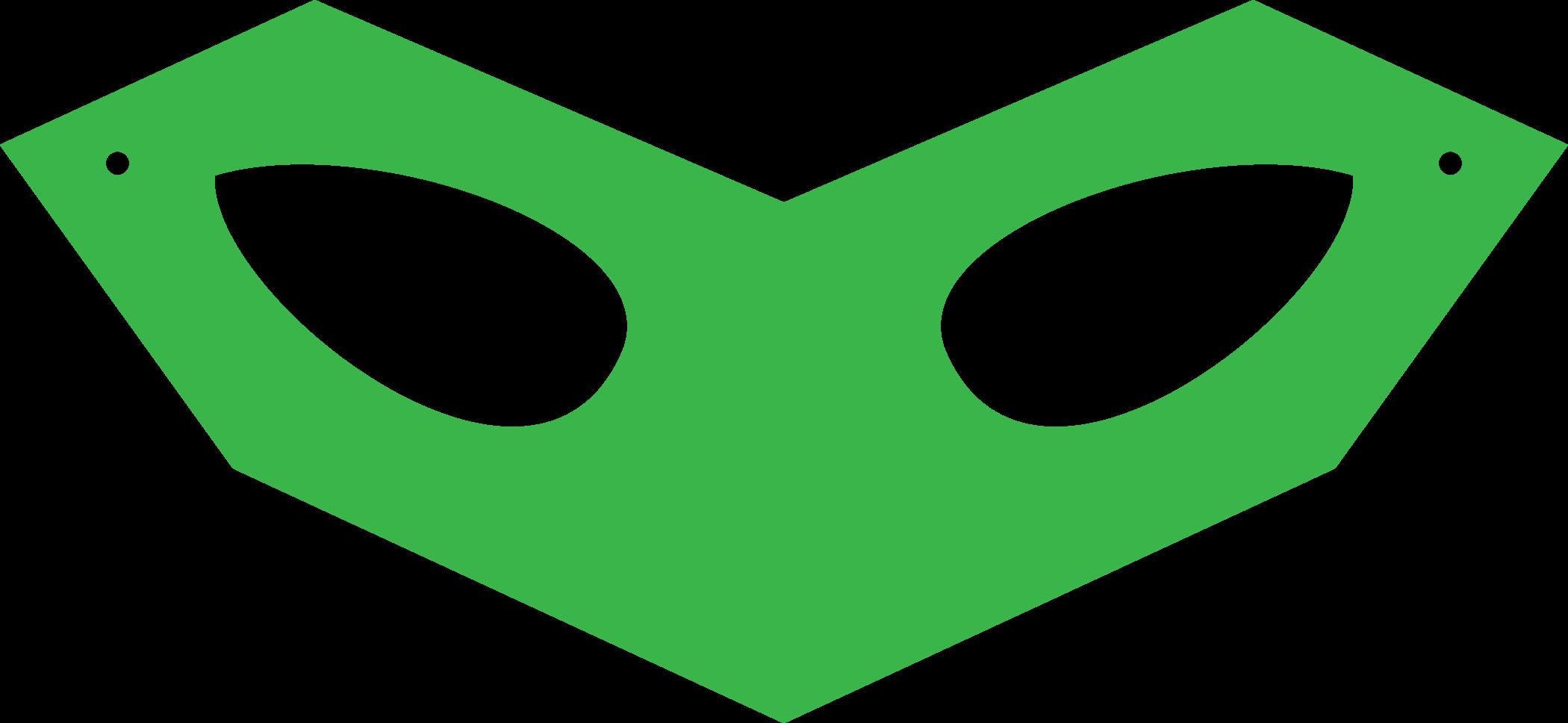Green Lantern Mask Template Robin Mask Template