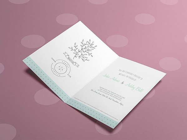 Greeting Card Mockup Free 12 Free Psd Greeting Card Mockups