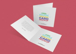 Greeting Card Mockup Free Free Square Greeting Cards Mockupgraphic Google – Tasty