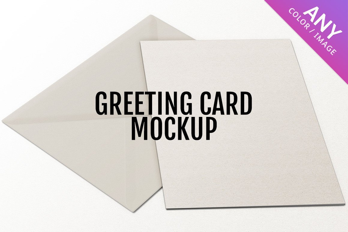 Greeting Card Mockup Free Greeting Card Mockup Product Mockups On Creative Market
