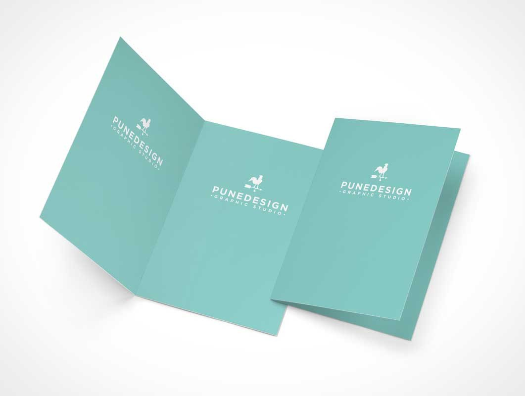 Greeting Card Mockup Free Greeting Card Psd Mockups