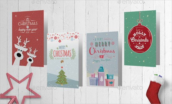 Greeting Card Template Photoshop 105 Christmas Card Templates Free & Premium Download