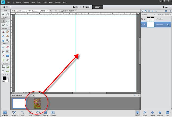 Greeting Card Template Photoshop Greeting Card Setup & Printing Shop Elements 11 & 12