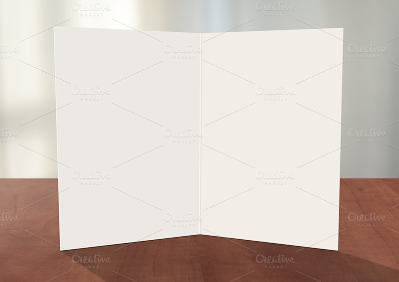 Greeting Card Template Photoshop Greeting Card Shop Mockup Card Templates On