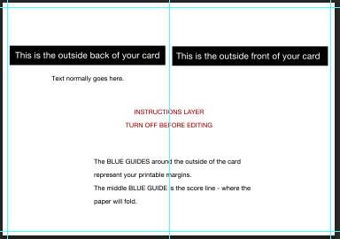 Greeting Card Template Photoshop Shop Cc Cs6 Cs5 Greeting Card Setup Tutorial