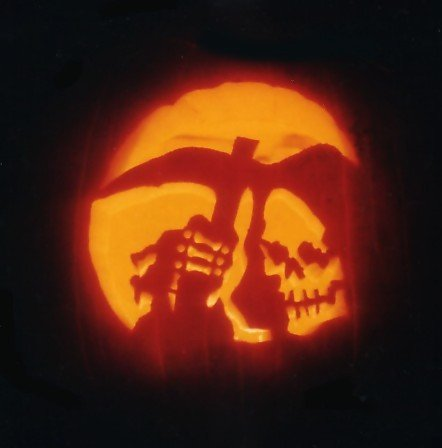 Grim Reaper Pumpkin Pattern Grim Reaper by Pumpkinmaster On Deviantart