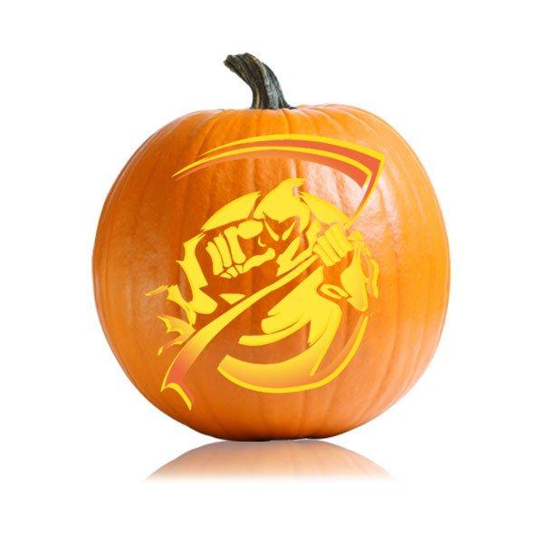 Grim Reaper Pumpkin Pattern Grim Reaper Pumpkin Carving Pattern Ultimate Pumpkin