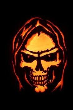 Grim Reaper Pumpkin Pattern Grim Reaper Pumpkin Google Search