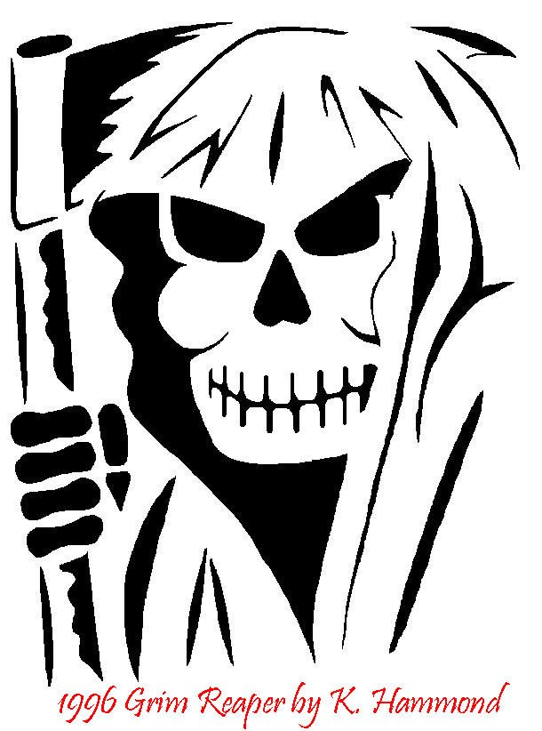 Grim Reaper Pumpkin Pattern Grim Reaper Pumpkin Pattern by Jadewik On Deviantart