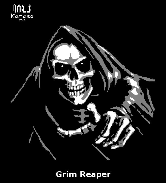 Grim Reaper Pumpkin Pattern Grim Reaper Pumpkin Pattern by Kamose On Deviantart