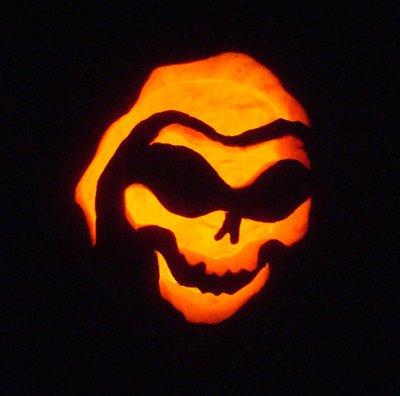 Grim Reaper Pumpkin Pattern Nick & Heather's 2009 Pumpkin Carving Contest