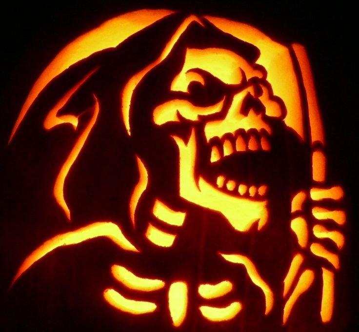 Grim Reaper Pumpkin Pattern Pin by Ken S Pumpkin Patch On Pumpkin Carvings at Ken S