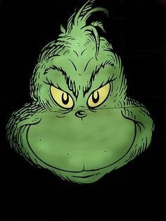 Grinch Eyes Template Grinch Face Template and Templates On Pinterest