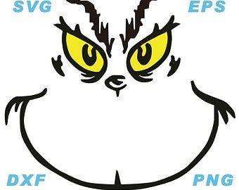 Grinch Eyes Template Grinch Svg