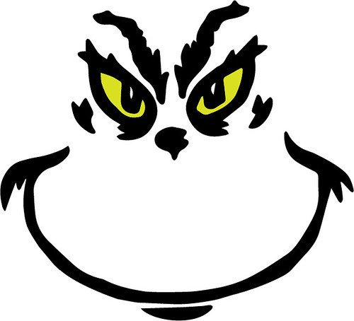 Grinch Eyes Template Tags Free Svg 2