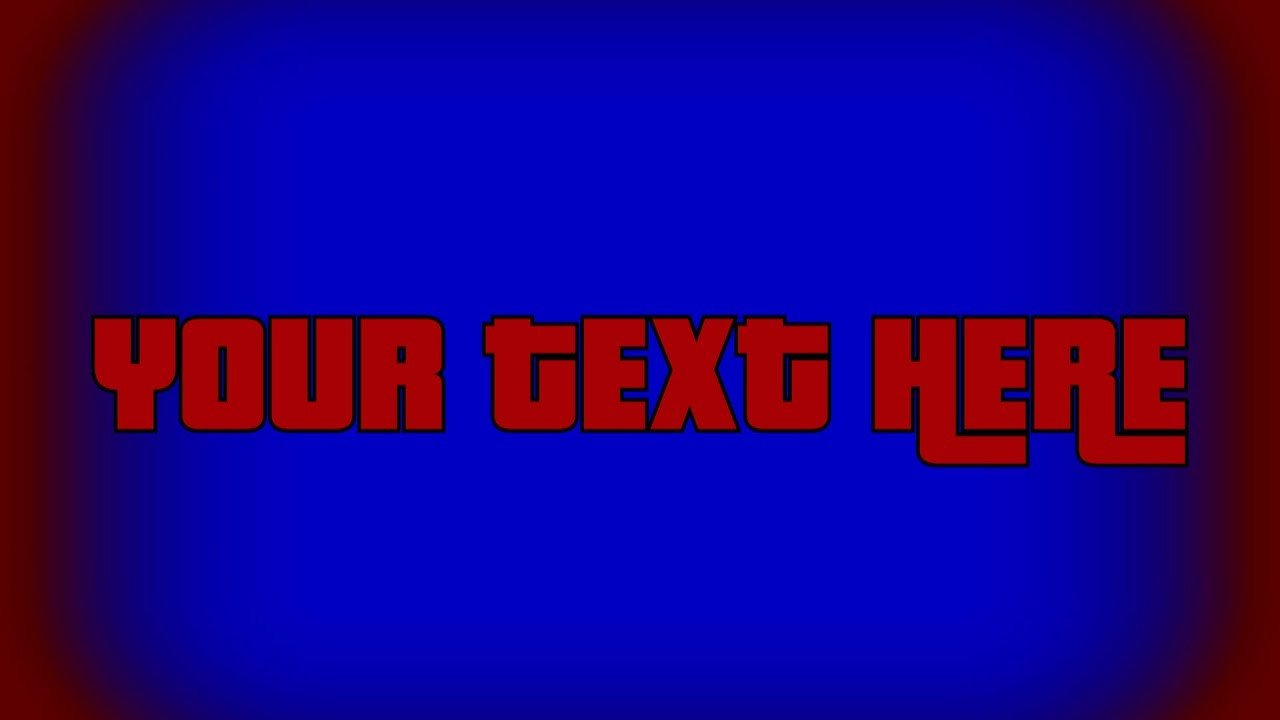 """Gta Wasted Template 【mlg Resource】gta V """"wasted"""" Bluescreen Template Text"""