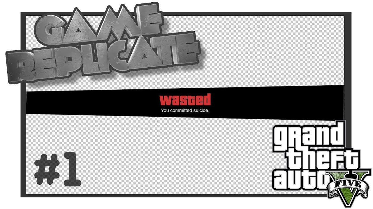 Gta Wasted Template Game Replicate Wasted Element Gta V