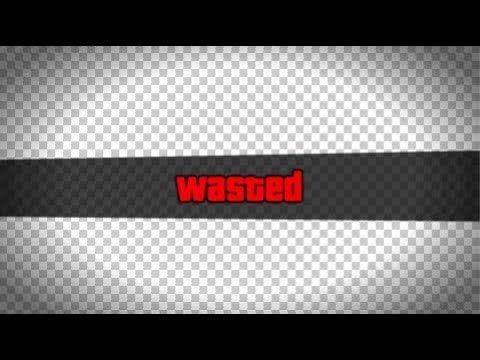 Gta Wasted Template Gta 5 Wasted Effect Transparent Template Free to Use