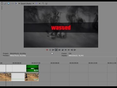 Gta Wasted Template How to Make A Gta V Wasted Video Using My Wasted Template