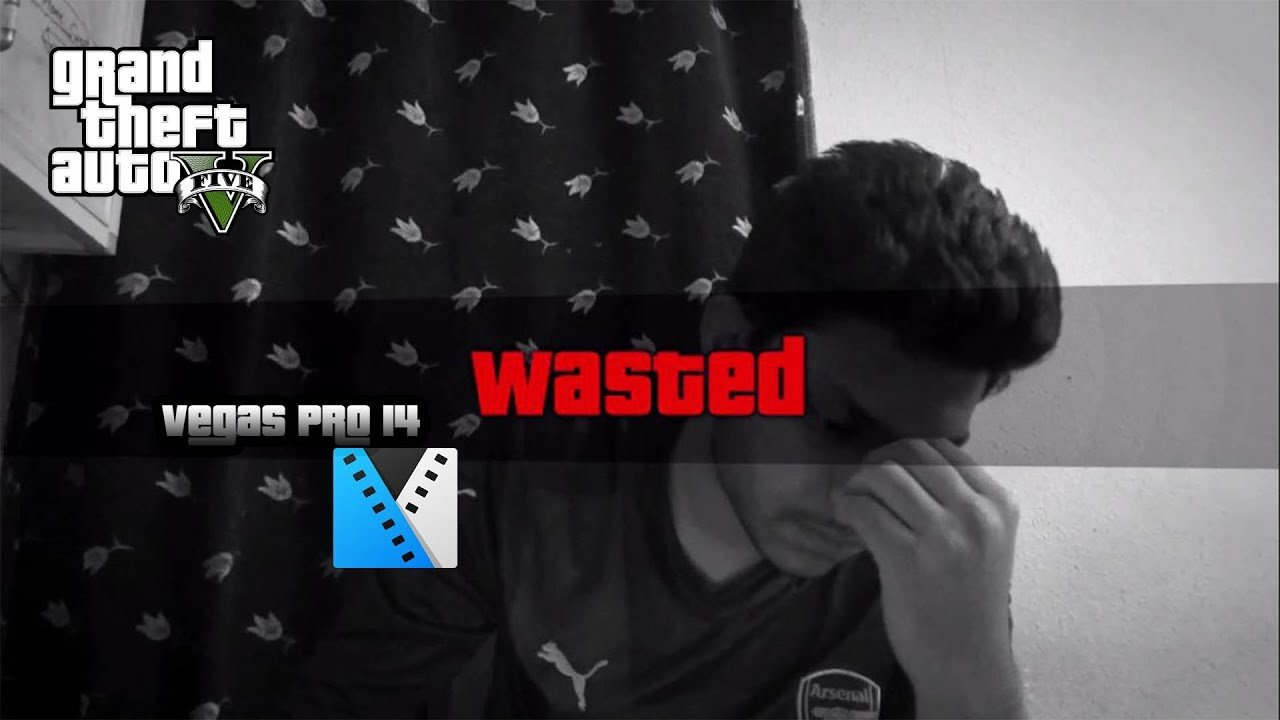 Gta Wasted Template How to Make the Gta 5 Wasted Effect Tutorial Vegas