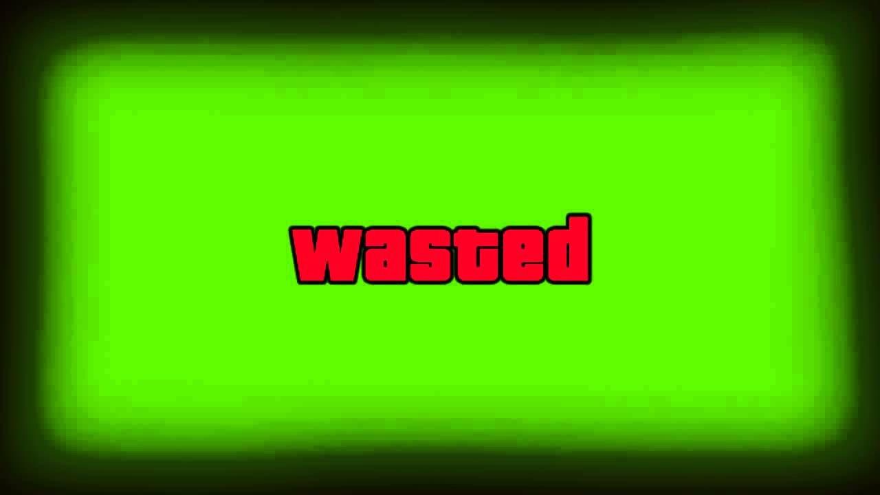 Gta Wasted Template [mlg Gaming source] Gta 5 Wasted Green Screen Hd