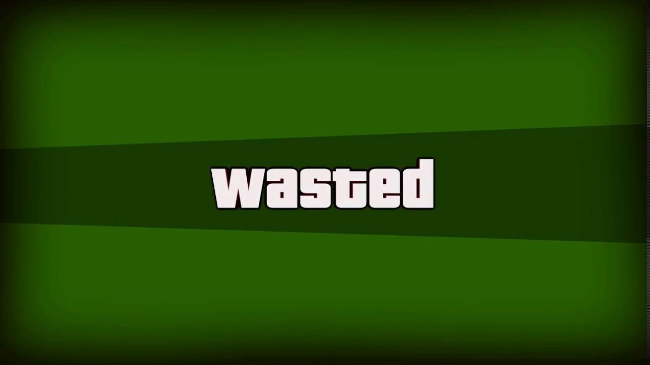Gta Wasted Template Wasted Gifs Template