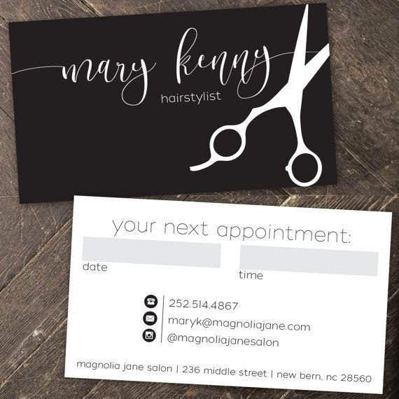 Hair Stylist Business Cards 25 Best Ideas About Hairstylist Business Cards On
