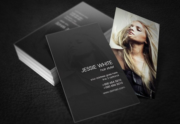 Hair Stylist Business Cards 89 Business Card Templates Pages Indesign Psd