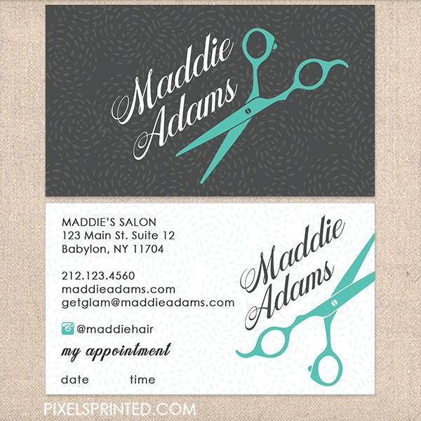 Hair Stylist Business Cards Best 25 Hairstylist Business Cards Ideas On Pinterest