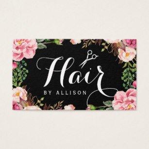 Hair Stylist Business Cards Hair Stylist Business Cards