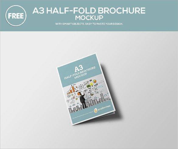 Half Fold Brochure Template 26 Half Fold Brochures 25 Psd Vector Eps