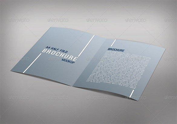 Half Fold Brochure Template 37 Half Fold Brochure Templates