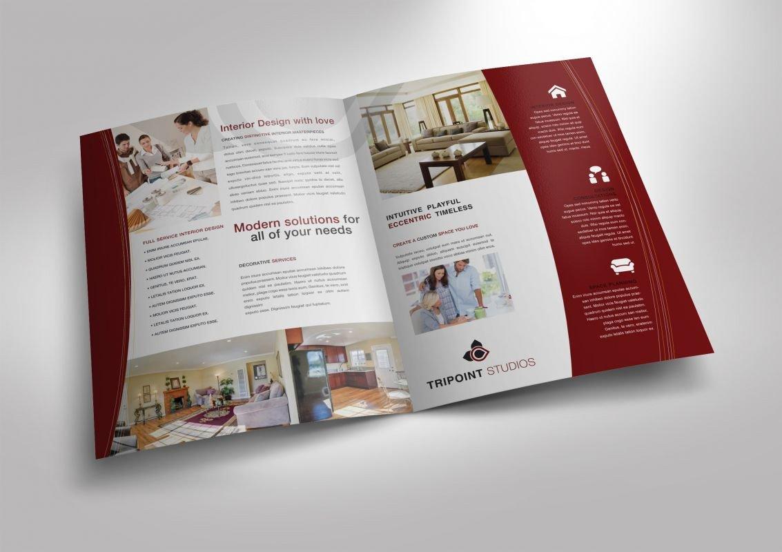 Half Fold Brochure Template Half Fold Brochure Template for Design Pany Marketing