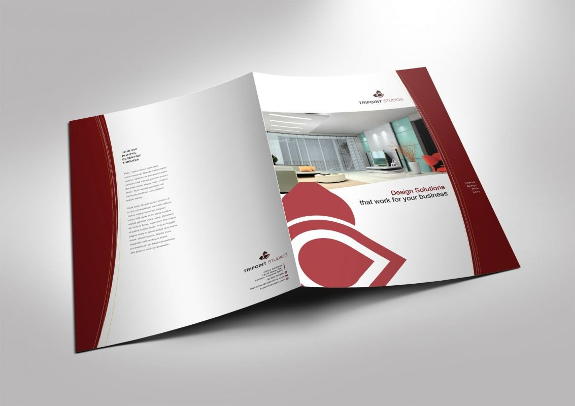 Half Fold Brochure Template Half Fold Brochure Template for Design Pany Marketing